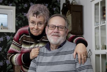 Bertil och Zaneta Garratt.
