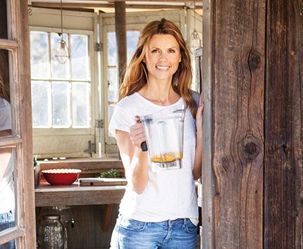 """""""Det ska vara roligt och enkelt att vara hälsosam"""", säger Marita Karlson som i augusti kommer ut med boken Hälsokick."""
