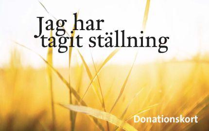 Dontationskort