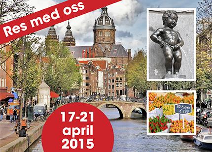 Res med Hemmets Veckotidning till Holland och Belgien