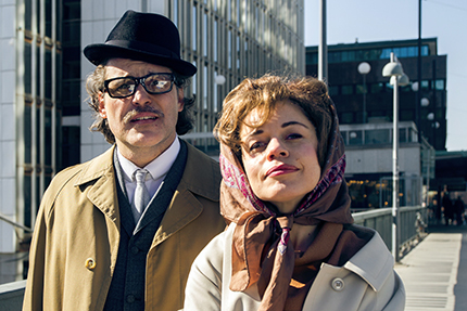 Erik Haag och Lotta Lundgren