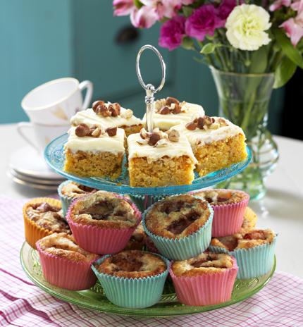Muffins och långpannekakor