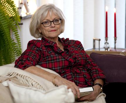 Christina Lundgren har slutat julstressa