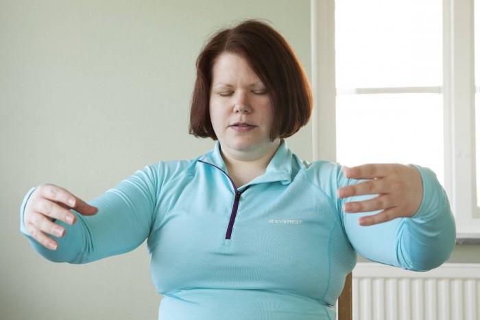 Qigong har hjälpt Mikaela att minska symtomen på adhd.