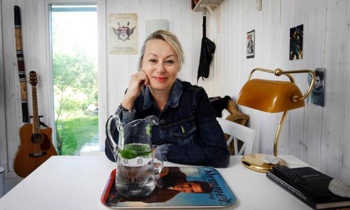 Louise Hoffsten har lovat sig själv att inte dö arg