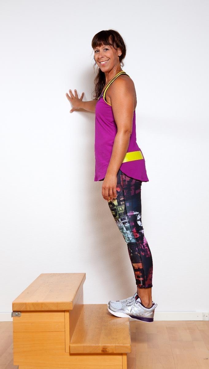 4 övningar för dig som har problem med hälsenorna