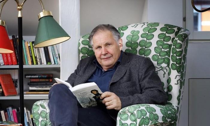 Hugo Lagercrantz skriver sina memoarer