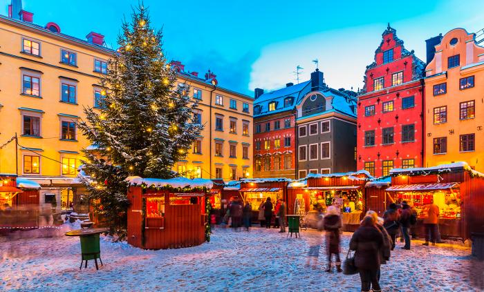 Sveriges bästa och mysigaste julmarknader