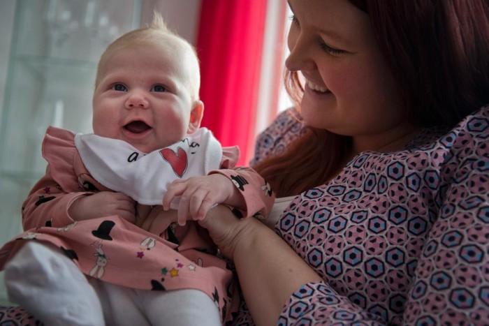 Chockbeskedet till Sofia: Du är gravid och ska föda nu!