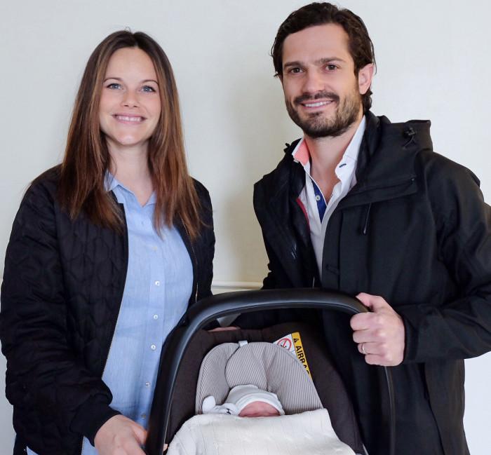 Sofia och Carl Philip har fått barn