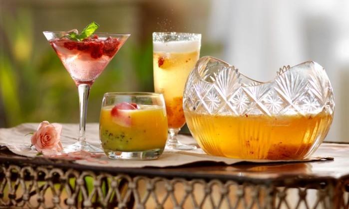 Tre festliga drinkar recept