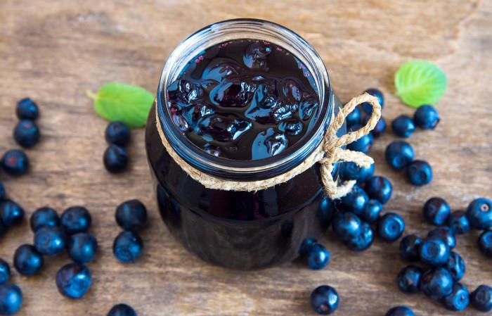 recept på blåbärssylt