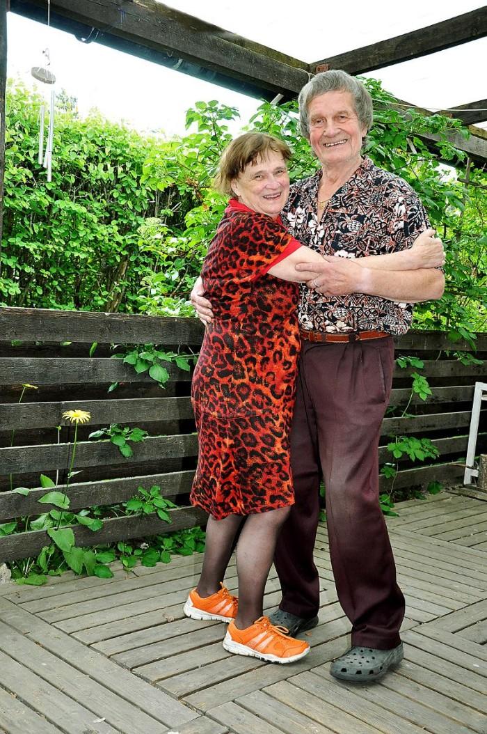 Kärlek på äldre dar - Toivo och Gudrun