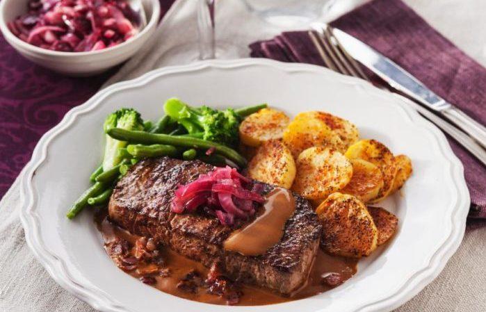 kött biffar recept