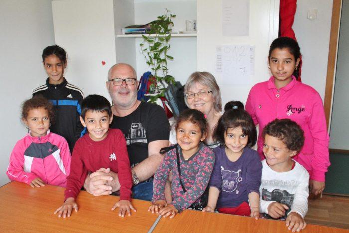 Barbro och Lars räddar barn i Rumänien