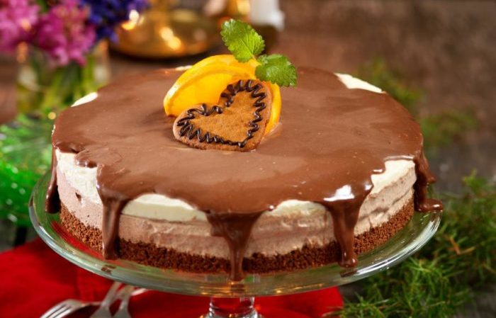 cheesecake med pepparkaka
