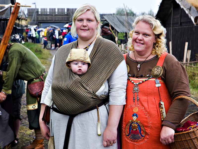 Birka bjuder pa vikingamat