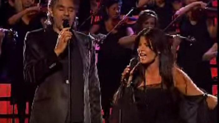 Carola och Andrea Bocelli