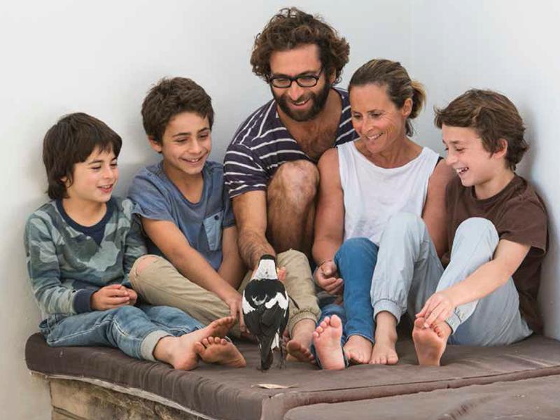 Familjen Bloom och kråkan Penguin