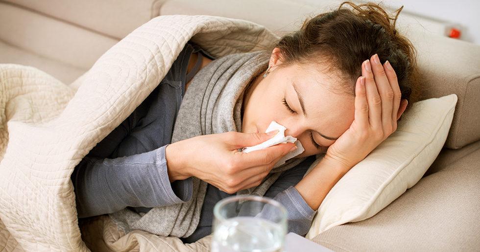 skillnad på förkylning och influensa