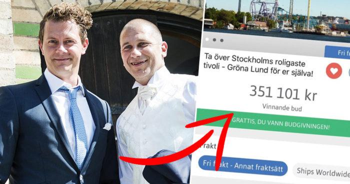 Tobbe Trollkarl och Markoolio budade hem Gröna Lund