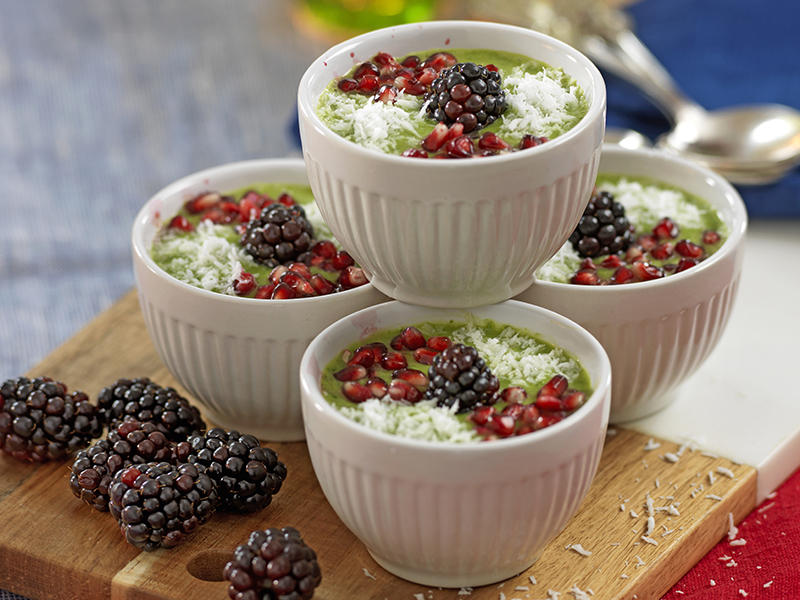 Smoothiebowl med avokado