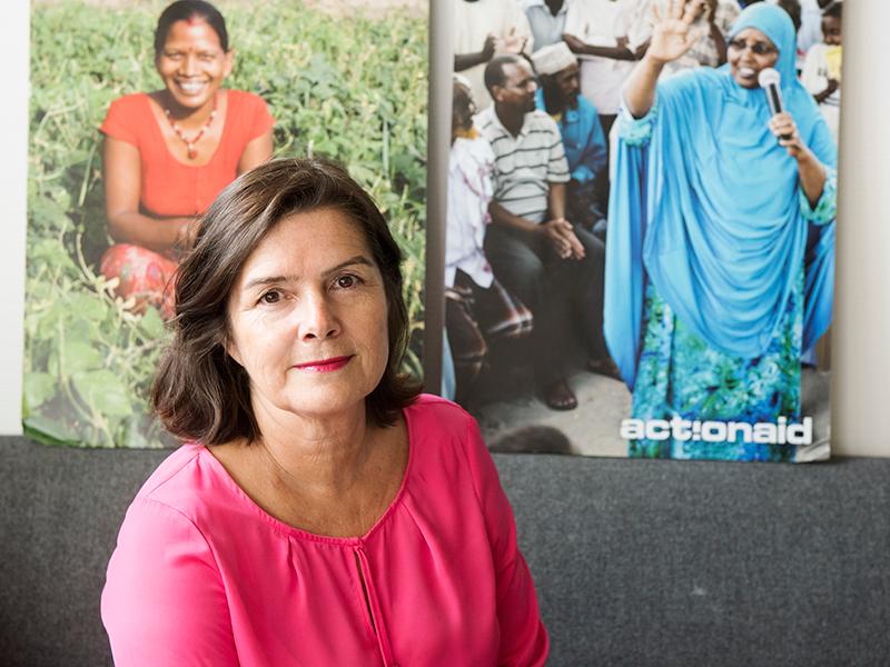 Ingela Holmertz, generalsekreterare ActionAid.