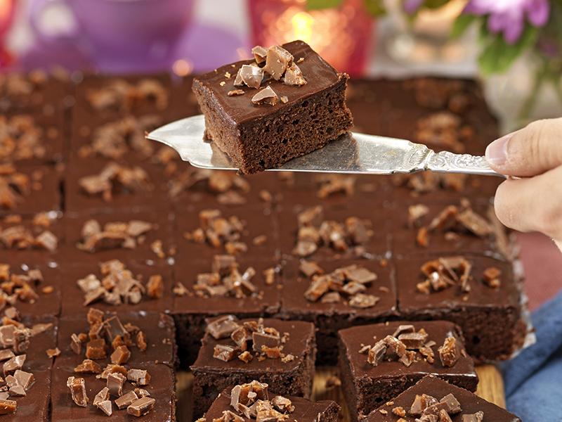 Chokladrutor med daim