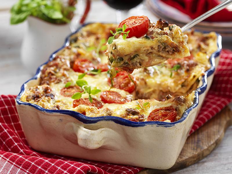 Lättlagad lasagne