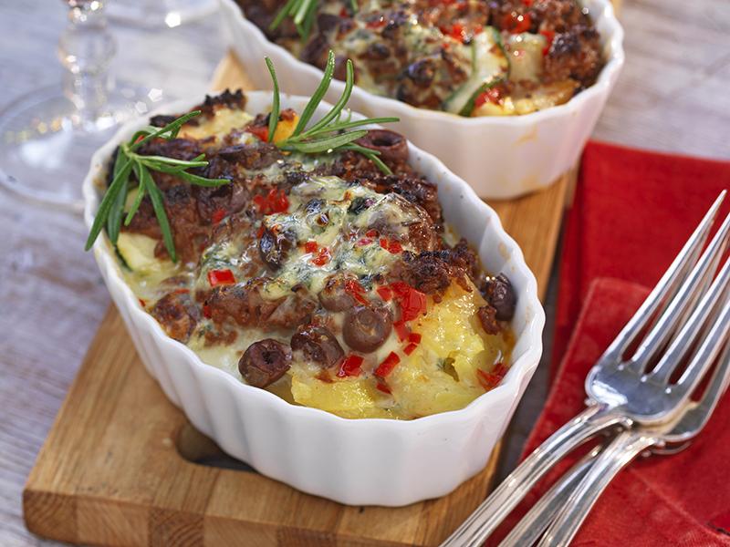 potatis- och färsgratäng