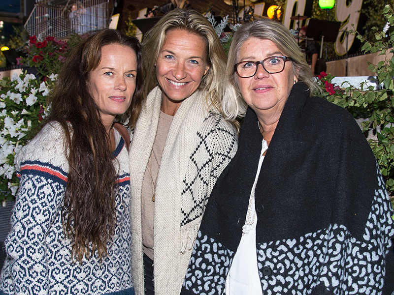 Lill-Babs döttrar, Malin Berghagen, Kristin Kaspersen och Monica Svensson
