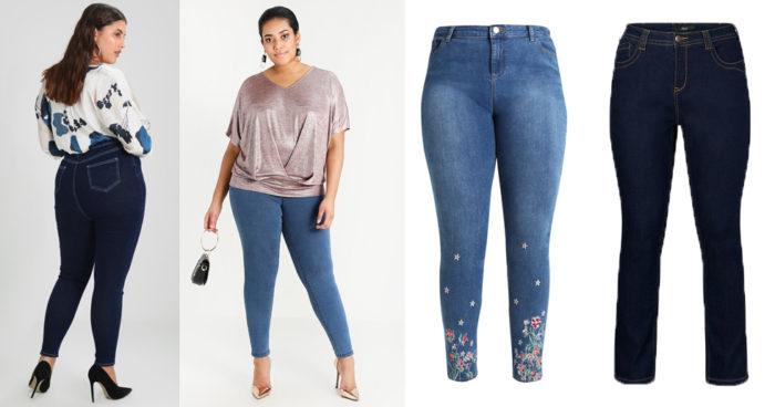 snygga jeans stora storlekar plus size