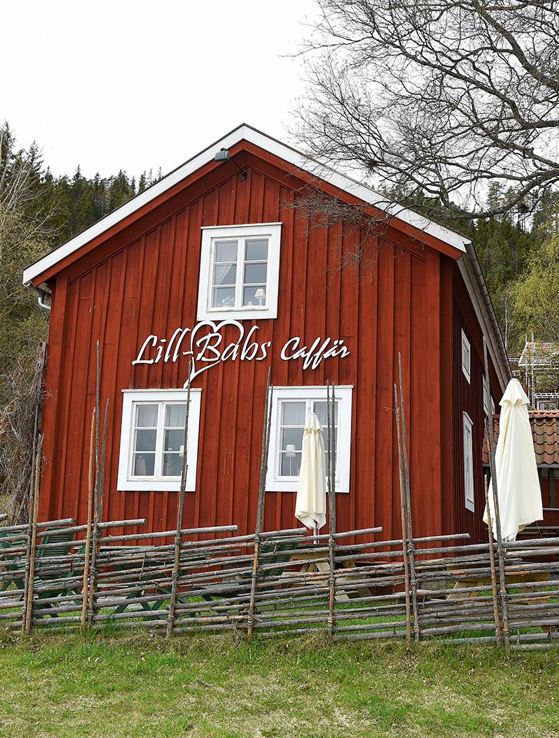 Lill-Babsutställningen i Caffären hemma i Järvsö