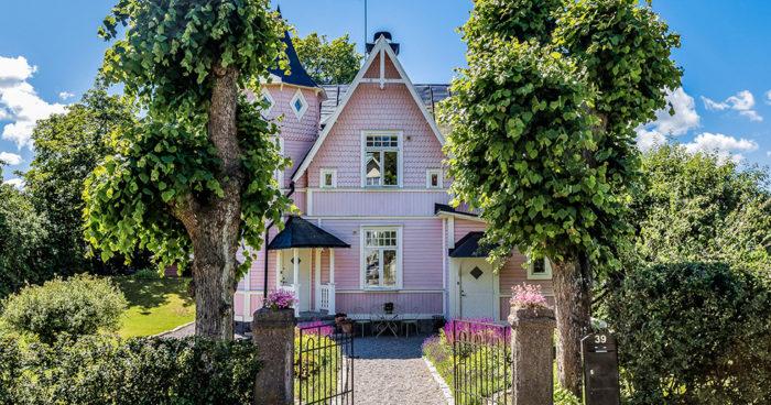 Rosa hus