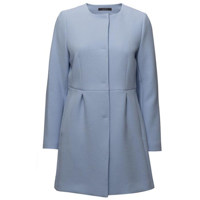 Ljusblå kappa
