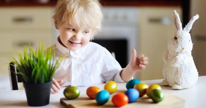 Måla ägg enkla tips