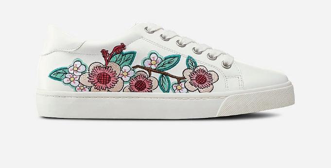 Vårskor 2018: Broderade skor