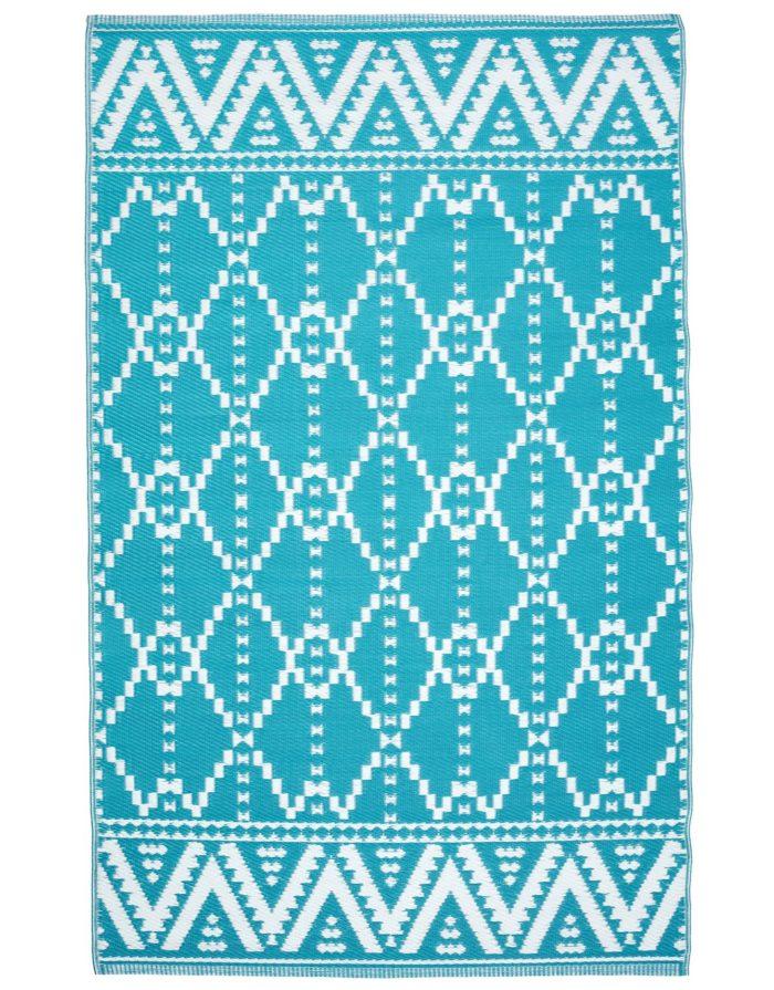 Plastmatta med mönster från Indiska