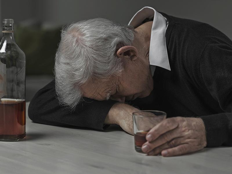 Ska min pappa supa ihjäl sig på grund av sorg?