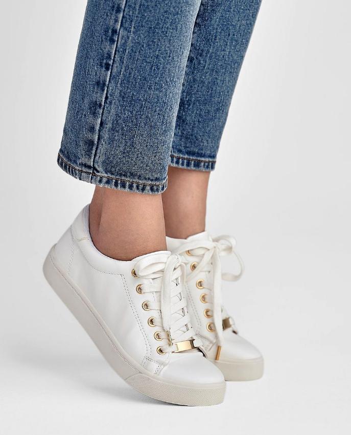 Vårskor 2018: vita sneakers
