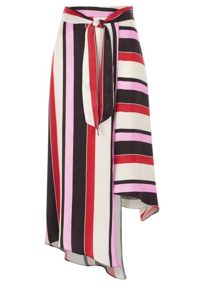 Randmönstrad kjol från River Island