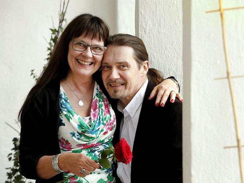 Carina Olofsson och Peter Kvarnestam