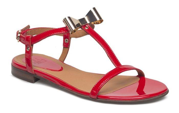 Röda sandaler från Billi Bi