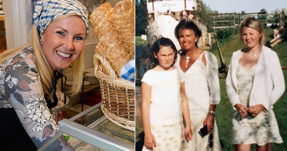 Elisa Lindström om sin uppväxt i Töreboda
