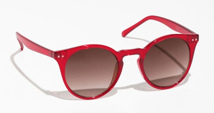Röda solglasögon från & Other Stories