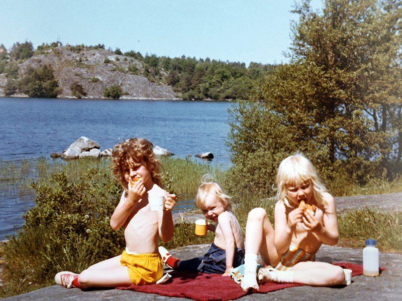 Camilla Kvartoft barndom