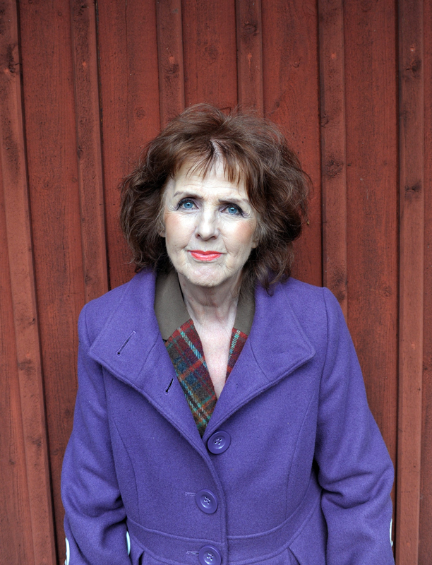 Journalisten Elisabet Höglund 2011.