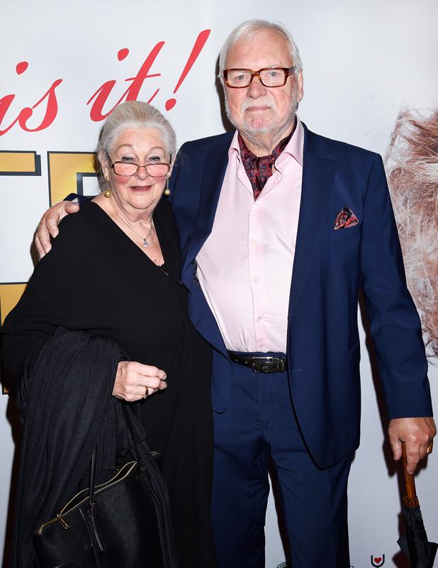 Leif Mannerström och frun Lilian på Oscarsteatern i Stockholm 2017.