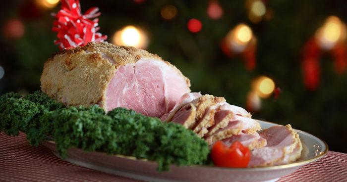 äta julskinka gravid