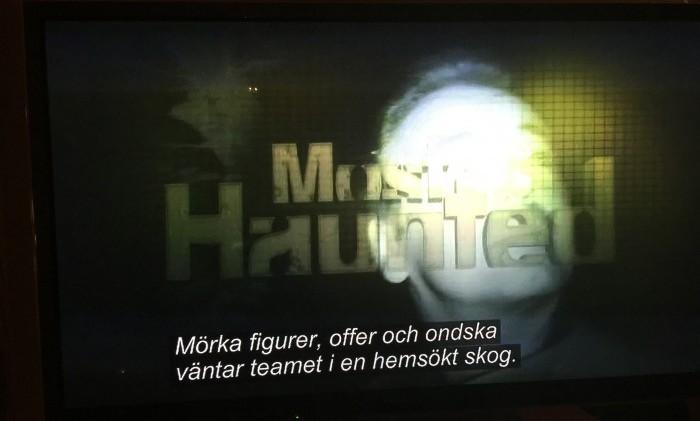 TV, spöken